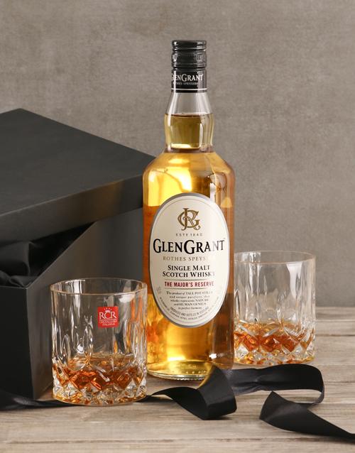 new-years: Glen Grant Whisky Gift Set!