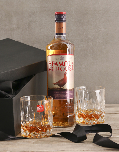 fine-alcohol: The Famous Grouse Gift Set!