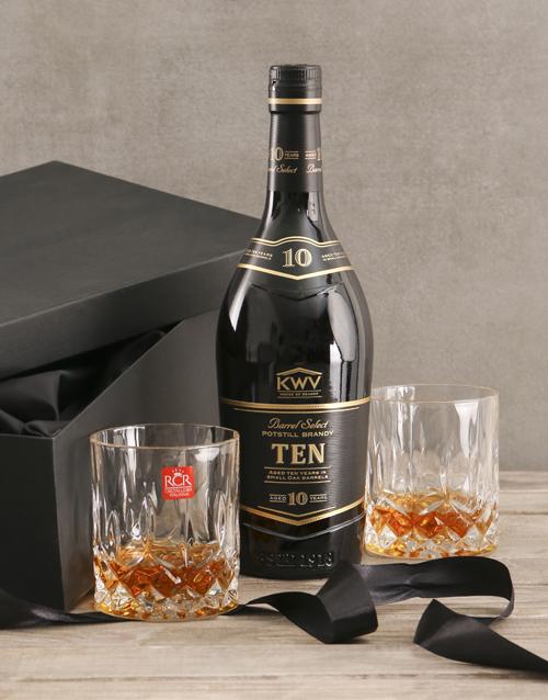 fine-alcohol: KWV Ten Year Gift Set!